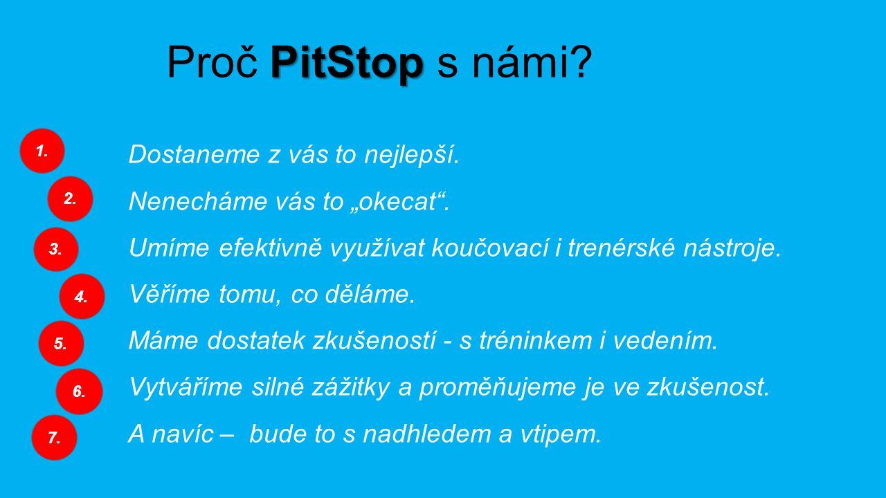 PitStop Proč PitStop s námi. Dostaneme z vás to nejlepší.