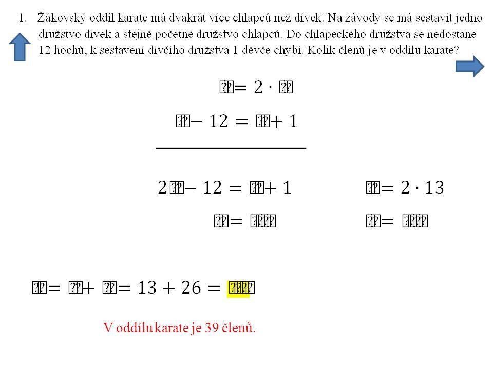 Porovnáme c z obou rovnic