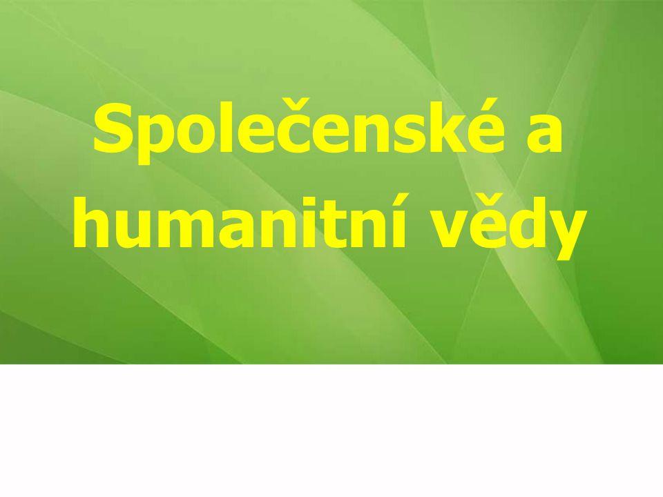 Společenské a humanitní vědy