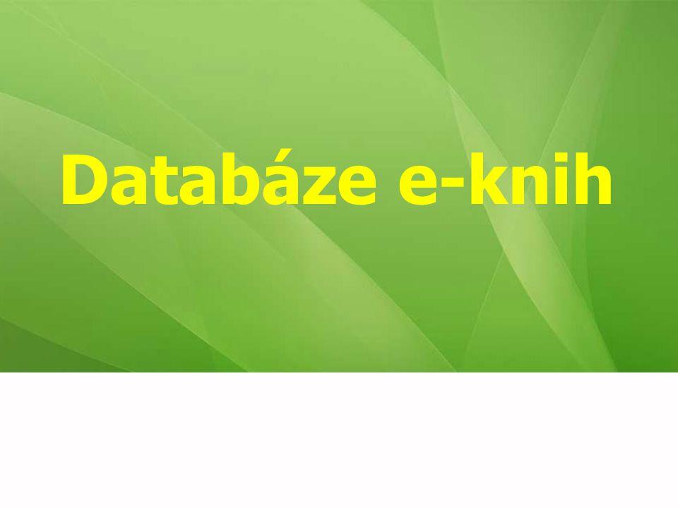 Databáze e-knih
