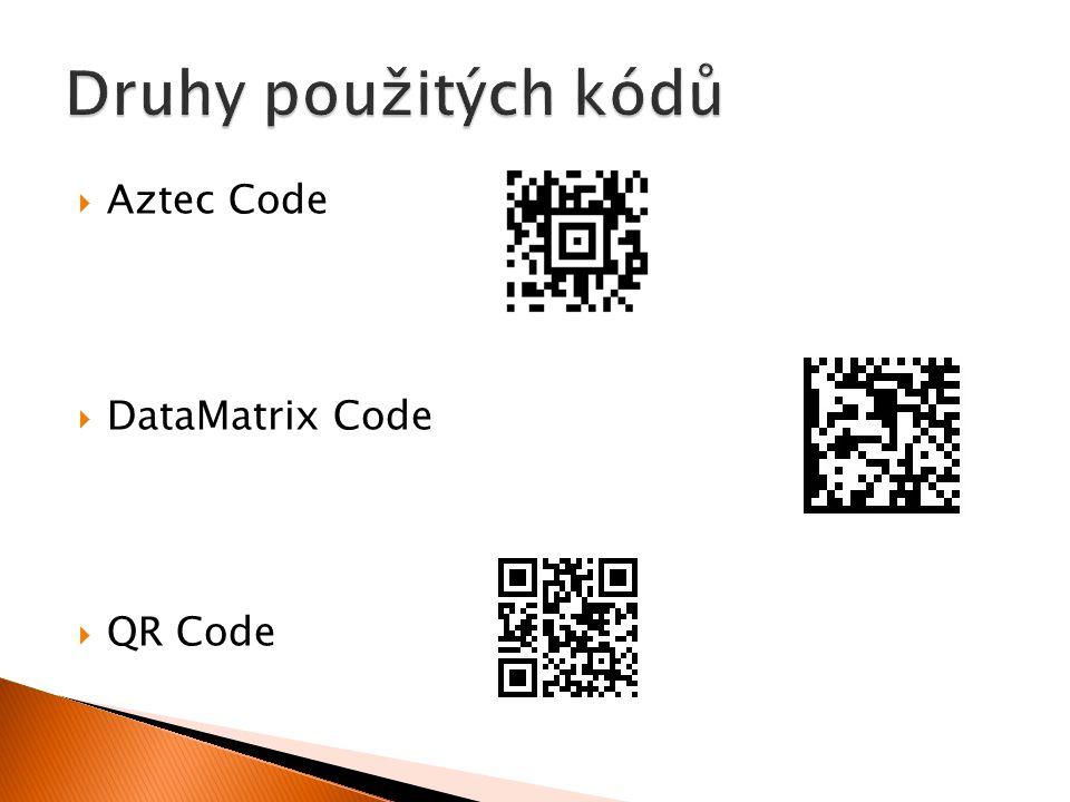  Aztec Code  DataMatrix Code  QR Code