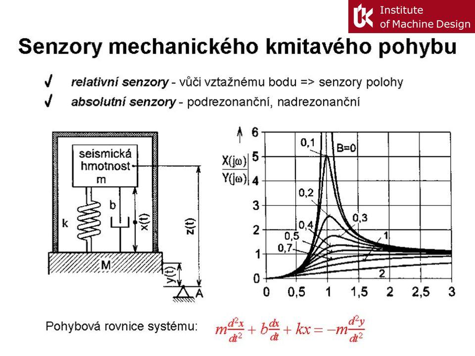 Senzory mechanického kmitavého pohybu