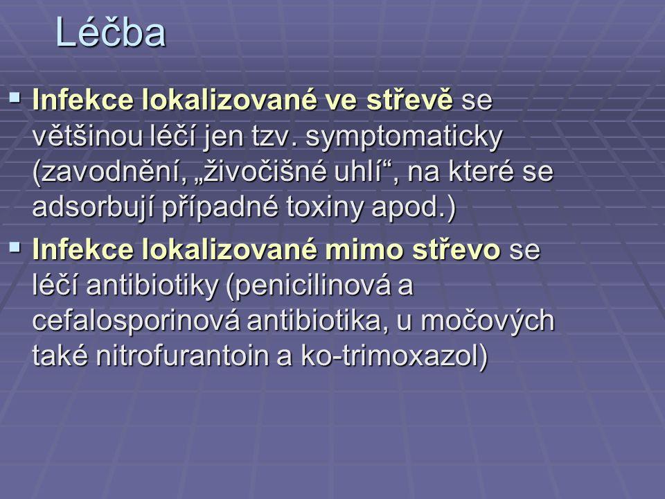 Některá rezervní antibiotika (při rezistenci na základní řadu) AntibiotikumZkratka Referenč.