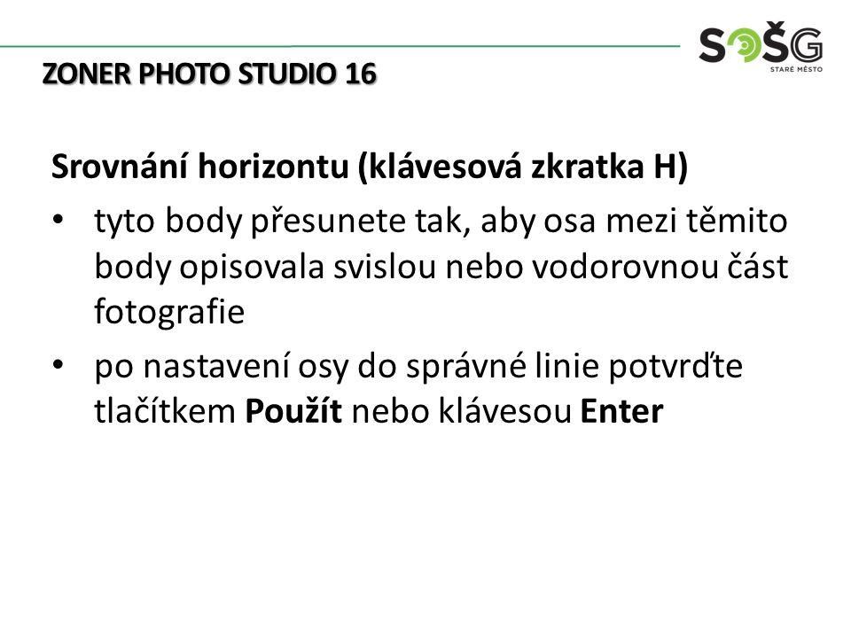 1)Zdroj: ZONER SOFTWARE.Zoner Photo Studio: 11 nástrojů, které musíte znát.