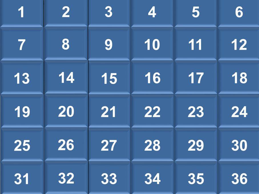 13456 7 9101112 8 13 15 161718 14 19 21222324 20 25 27282930 26 31 33343536 32 2 1 3 456 2 7 9101112 8 13 15 161718 14 1921222324 20 25 27282930 26 31 33343536 32