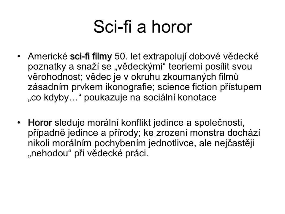 Sci-fi a horor sci-fi filmyAmerické sci-fi filmy 50.