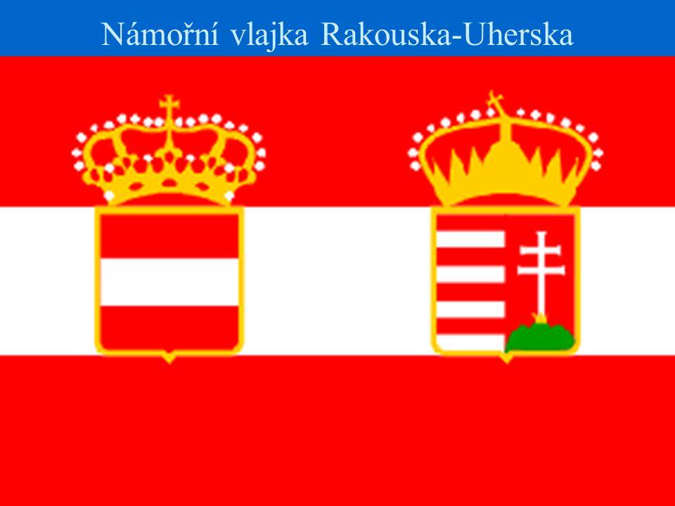 Námořní vlajka Rakouska-Uherska