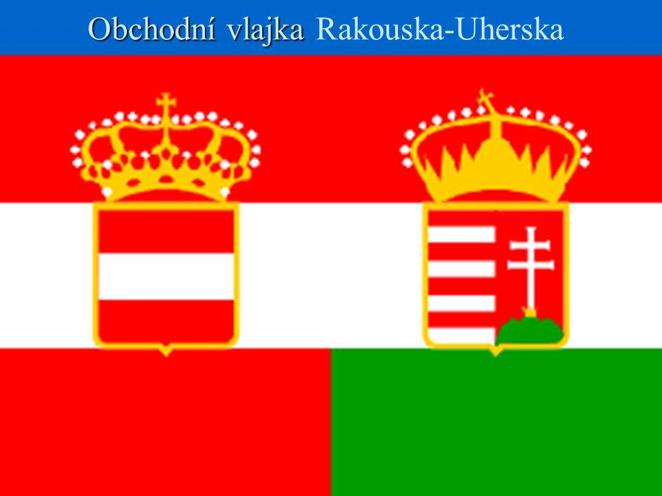 Obchodní vlajka Obchodní vlajka Rakouska-Uherska