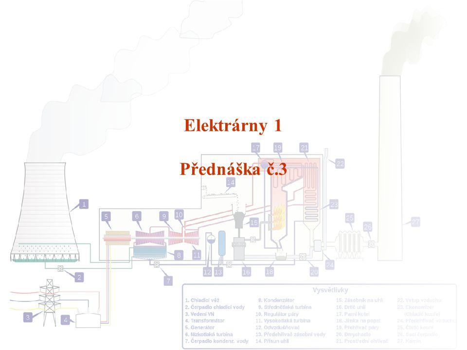Elektrárny 1 Přednáška č.3