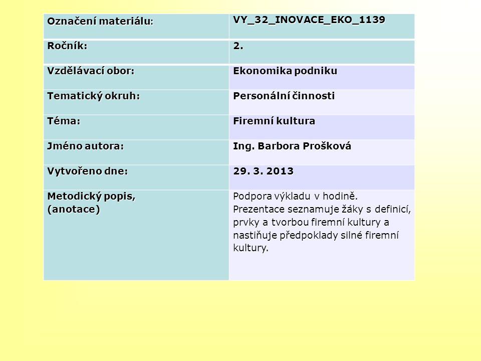 Označení materiálu : VY_32_INOVACE_EKO_1139Ročník:2.
