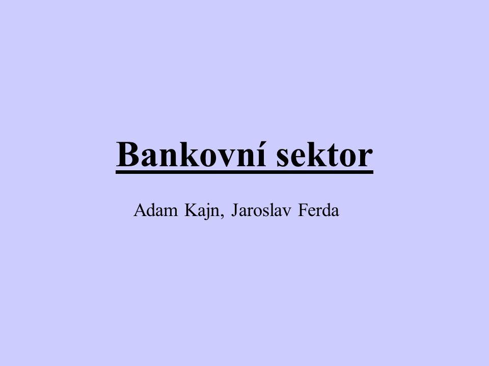 Bankovní sektor Adam Kajn, Jaroslav Ferda