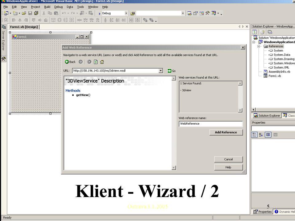 Ostrava 3.1.20055 Klient - Wizard / 2
