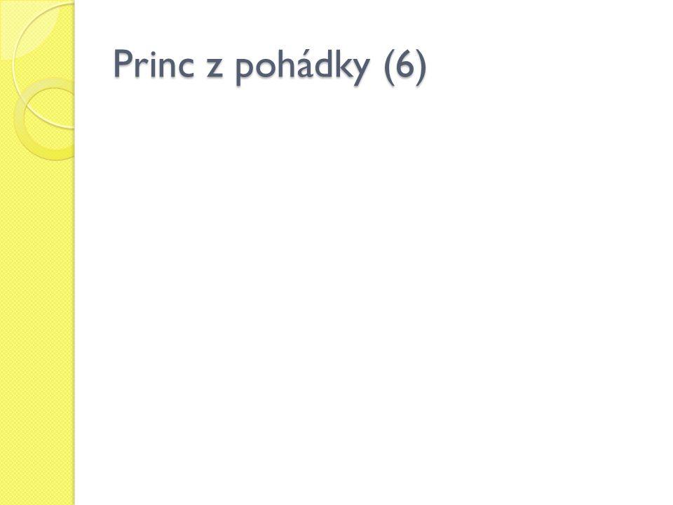 Princ z pohádky (6)