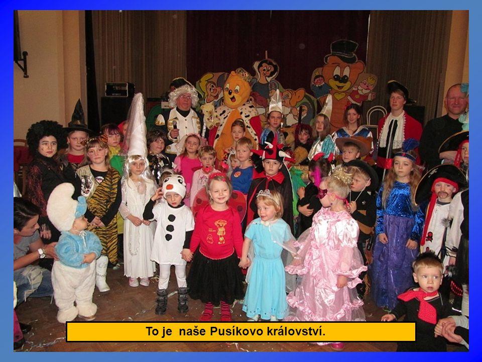 Na karneval dorazili i televizní JůHeláci.