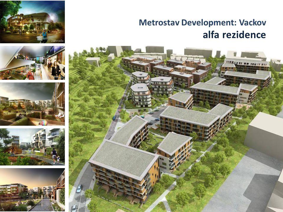 Metrostav Development: Vackov alfa rezidence