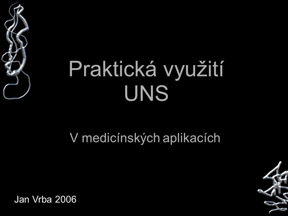 Praktická využití UNS V medicínských aplikacích Jan Vrba 2006