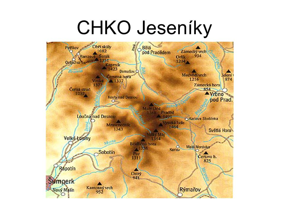Velká kotlina Karlov pod Pradědem – Ovčárna 11 km patří k přírodovědecky nejvýznamnějším lokalitám střední Evropy druhové bohatství rostlin a živočichů kombinace působení rozhodujících ekologických činitelů: reliéfu a geologického podkladu, oslunění, sněhu, vody, půdy a větru
