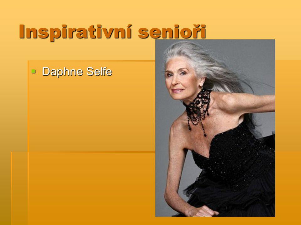 Inspirativní senioři  Daphne Selfe