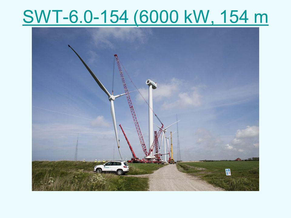 SWT-6.0-154 (6000 kW, 154 m diameter)