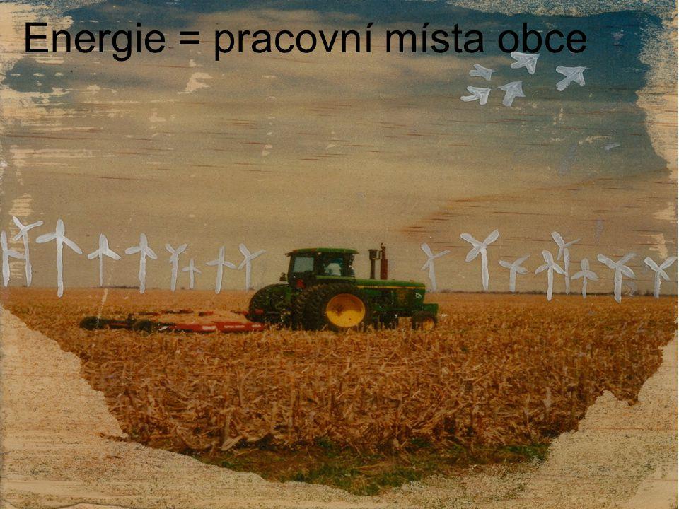 Energie = pracovní místa obce