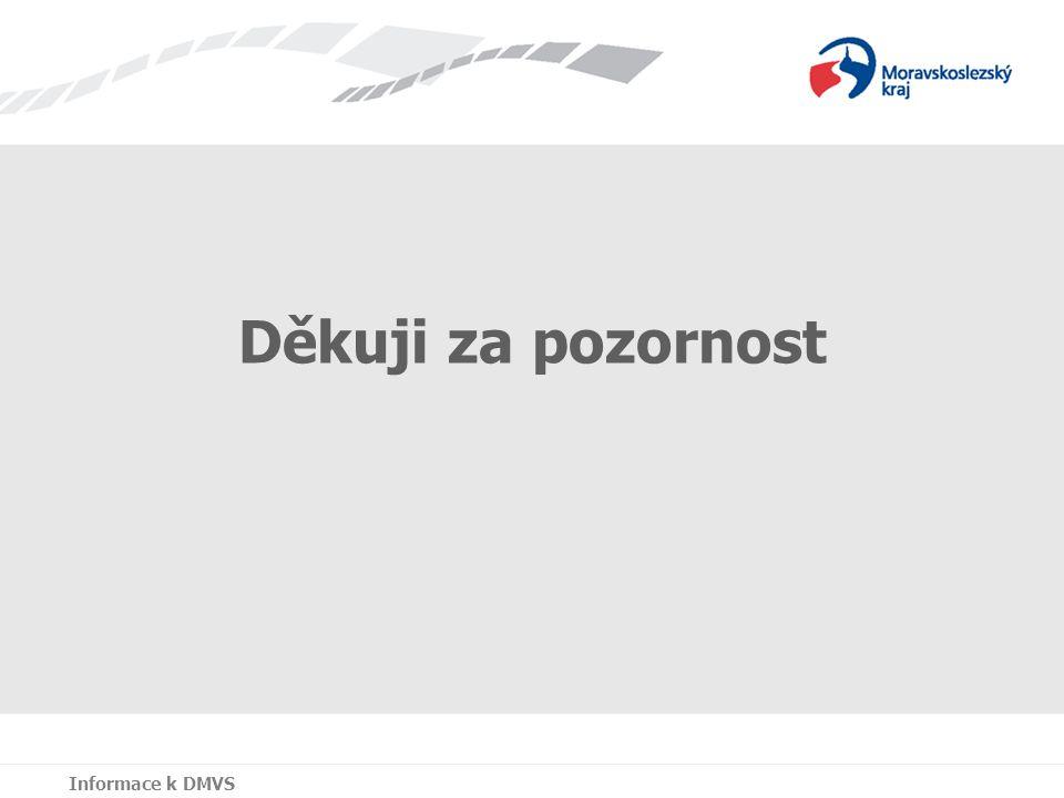Jana Třísková Zuzana Hamzová Děkuji za pozornost Informace k DMVS