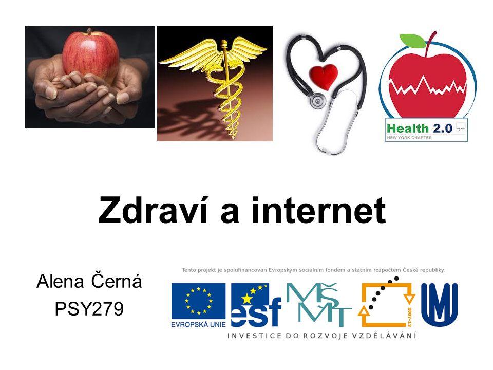 Zdraví a internet Alena Černá PSY279