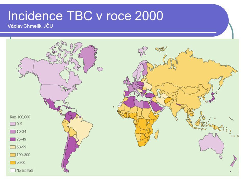 Incidence TBC v roce 2000 Václav Chmelík, JČU