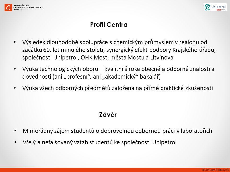 Výsledek dlouhodobé spolupráce s chemickým průmyslem v regionu od začátku 60.
