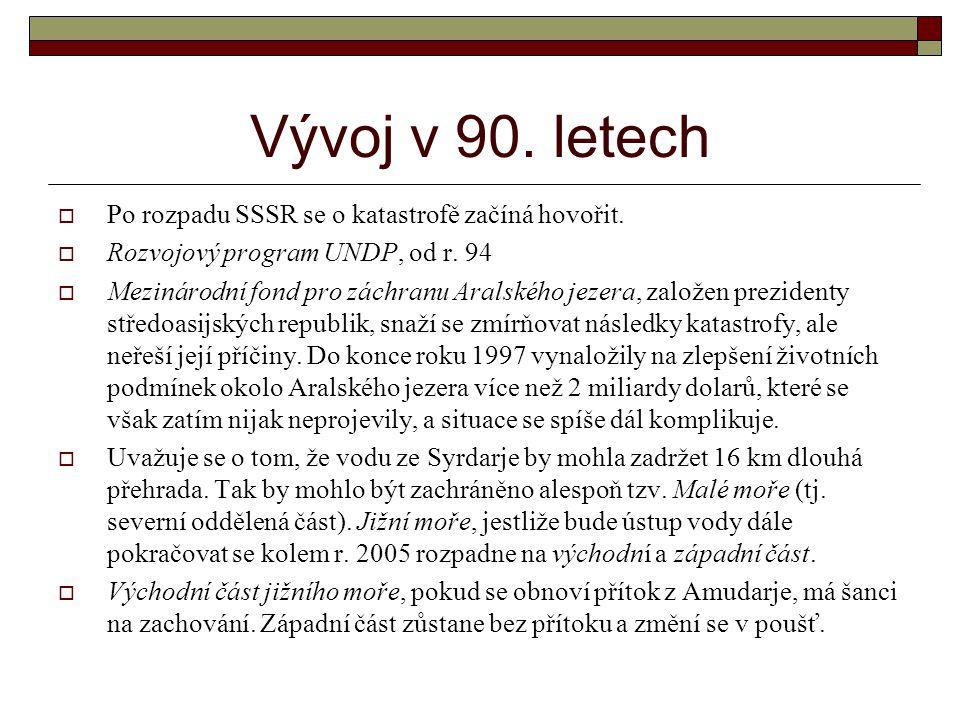 Vývoj v 90.letech  Po rozpadu SSSR se o katastrofě začíná hovořit.