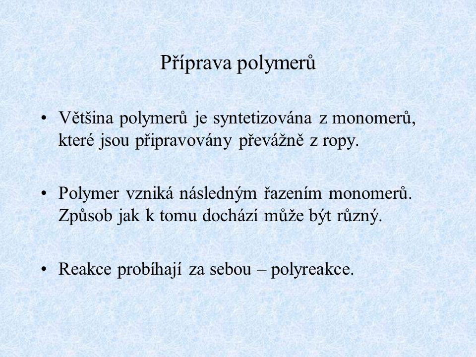 Elektrické vlastnosti Polymery jsou dobré elektrické izolanty.