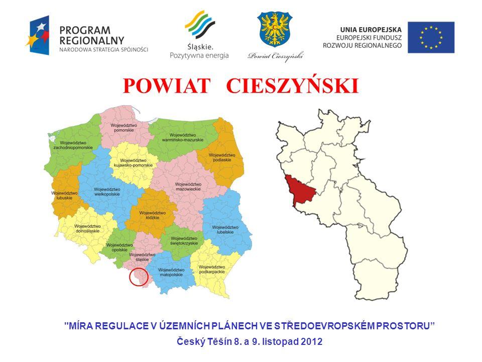 MÍRA REGULACE V ÚZEMNÍCH PLÁNECH VE STŘEDOEVROPSKÉM PROSTORU Český Těšín 8.