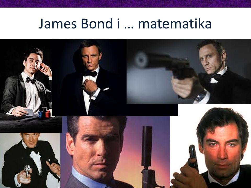 James Bond i … matematika