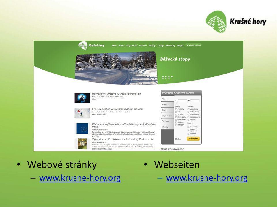 Webové stránky – www.krusne-hory.org www.krusne-hory.org Webseiten – www.krusne-hory.org www.krusne-hory.org