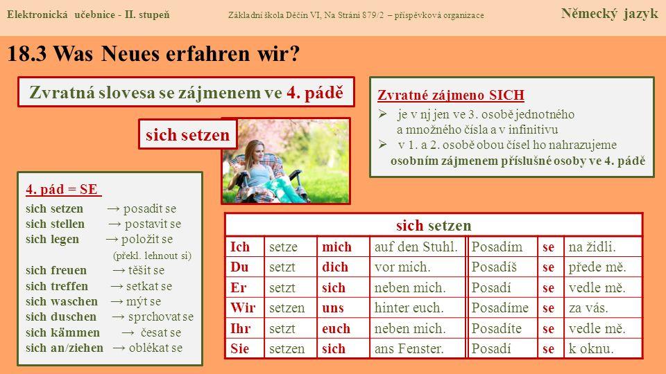 18.4 Welche neue Termine erlernen wir.Elektronická učebnice - II.