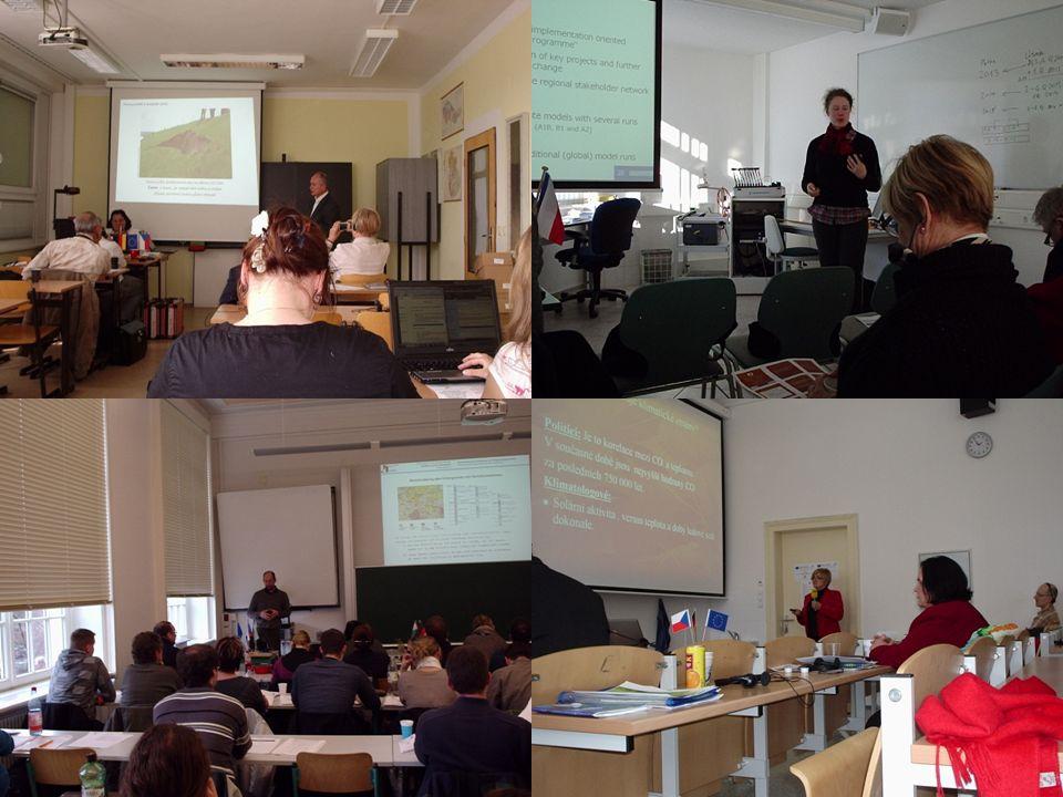 Semináře TUL –20x Klipro-Seminar (Mi 14:15 einmal pro zwei Wochen, alljährlich von Oktober bis Dezember + von März bis Mai) (bisher 12x) HS Zi/Gr –16x iTN Seminar: (Mi 16:30) alljährlich von Oktober bis Februar 5 Seminare und von März bis Juni 3-5 Seminare (bisher 8x) UJEP – 8x (2 Veranstaltungen pro Semestr) (bisher 8x) HTW –10x Dresdener Geotechnik Seminar an der HTW Dresden (Do 16:50) alljährlich von Oktober bis Februar, 5 Veranstaltungen (bisher 6x) Seminare TUL – (proběhlo 12x) 20x seminář NTI (St 14:15 ob týden každoročně říjen-prosinec + březen-květen) HS Zi/Gr – 16x iTN Seminar: (většinou St 16:30) každoročně říjen-únor 5 seminářů a březen- červen 3 semináře (dosud 8x) UJEP – 8x (2 akce/ semestr)(dosud 8x) HTW – 10x geotechnický seminář (Čt 16:50) každoročně říjen-únor 5 akcí (dosud 6x)
