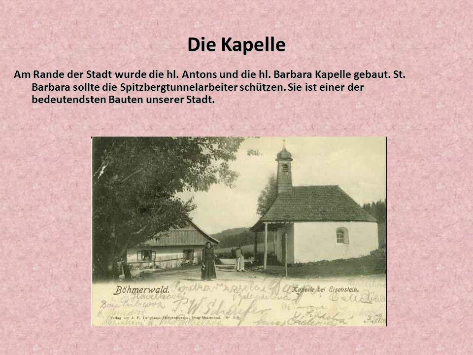 Škola Na místě, kde stojí nová Základní škola Karla Klostermanna, býval velký hotel Bavaria.