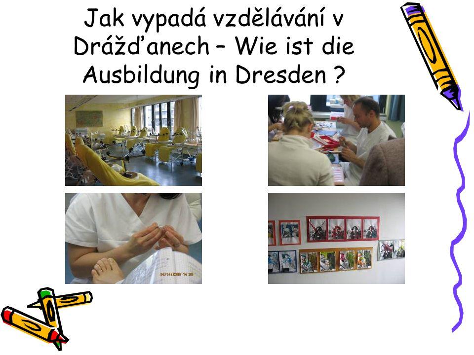 Jak vypadá vzdělávání v Drážďanech – Wie ist die Ausbildung in Dresden