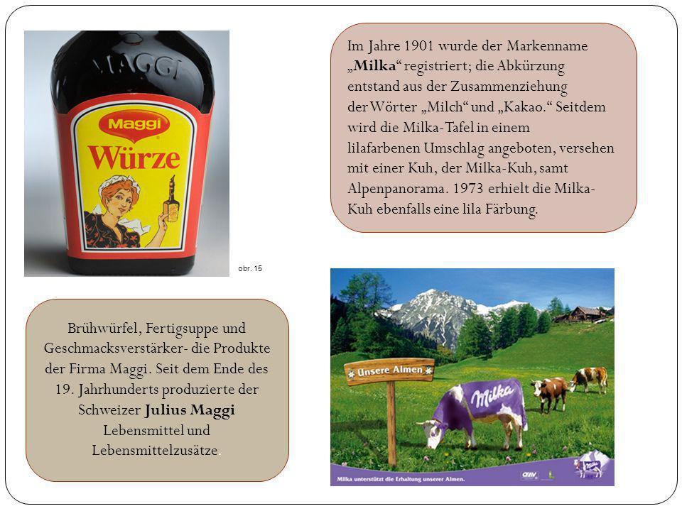 Brühwürfel, Fertigsuppe und Geschmacksverstärker- die Produkte der Firma Maggi. Seit dem Ende des 19. Jahrhunderts produzierte der Schweizer Julius Ma
