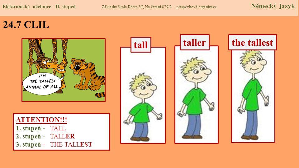 24.8 Test Správné odpovědi: 1.c 2.a 3.d 4.a Test na známku Elektronická učebnice - II.