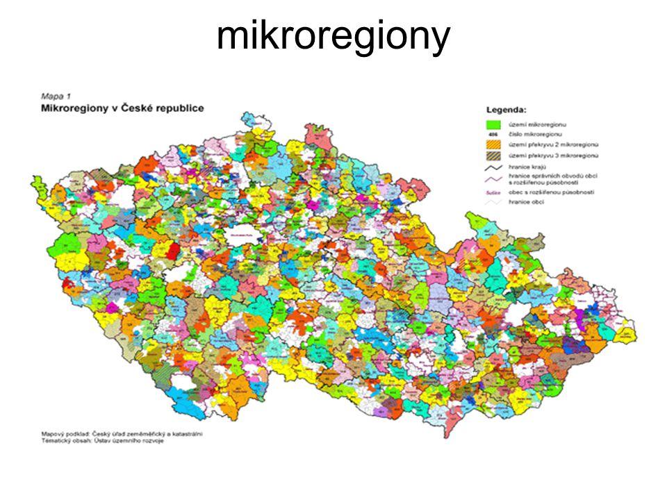 mikroregiony