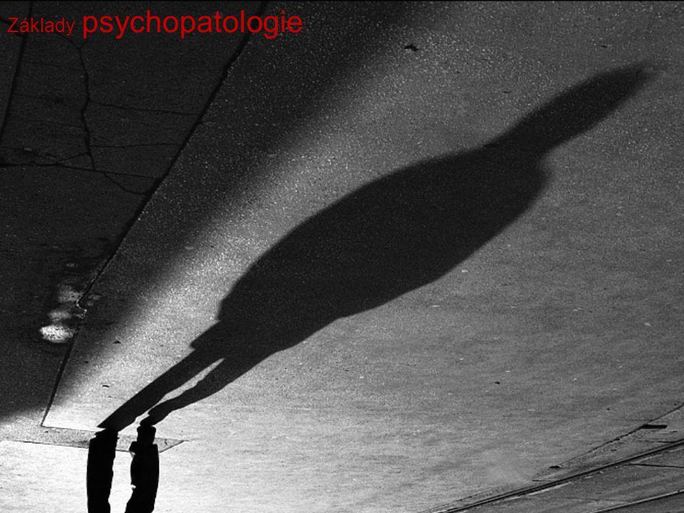 Co to je psychopatologie .