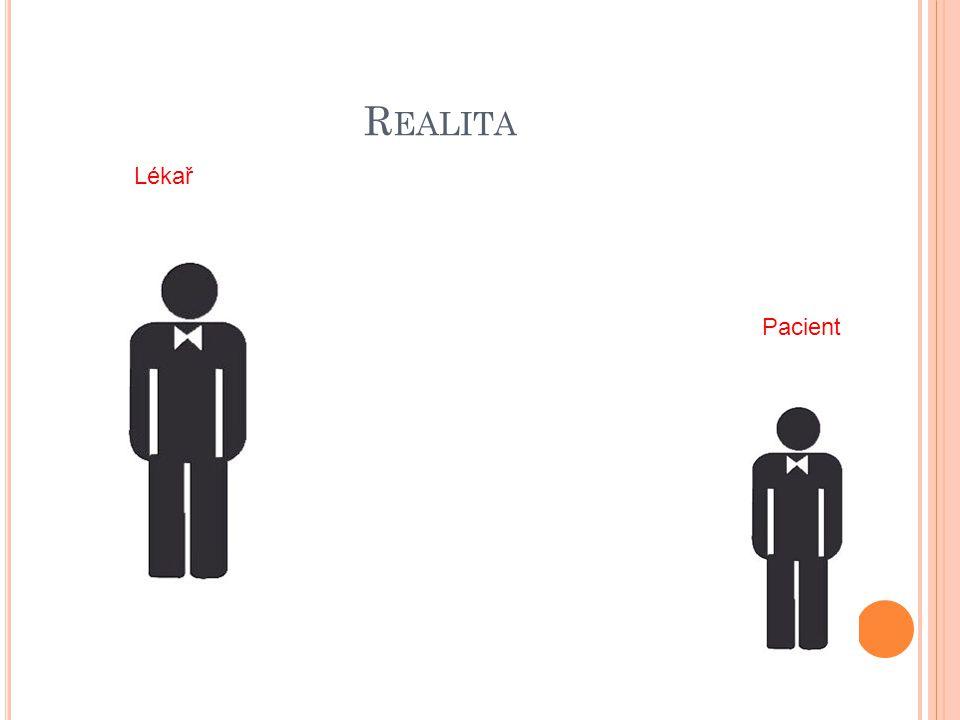 R EALITA Pacient Lékař