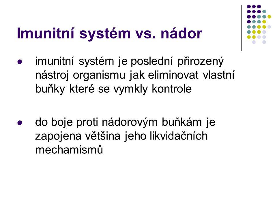 Imunitní systém vs.