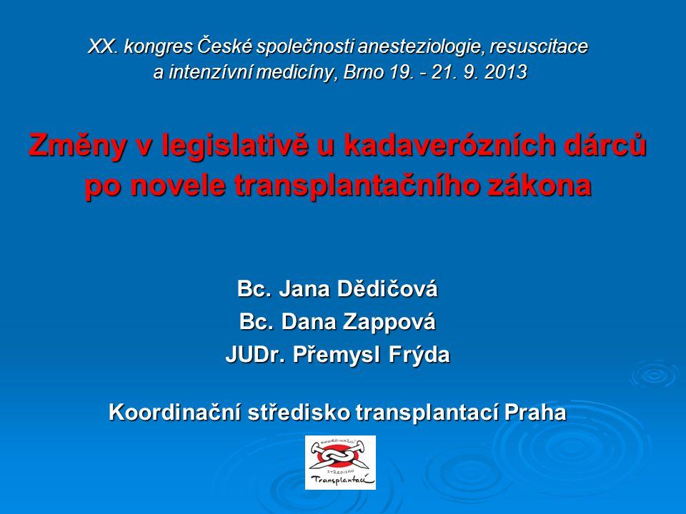 XX. kongres České společnosti anesteziologie, resuscitace a intenzívní medicíny, Brno 19.