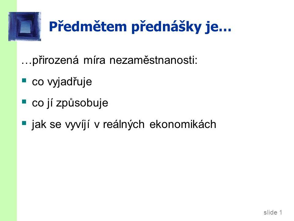 slide 52 Nezaměstnanost ČR 1991-2010 Zdroj: VUPSV