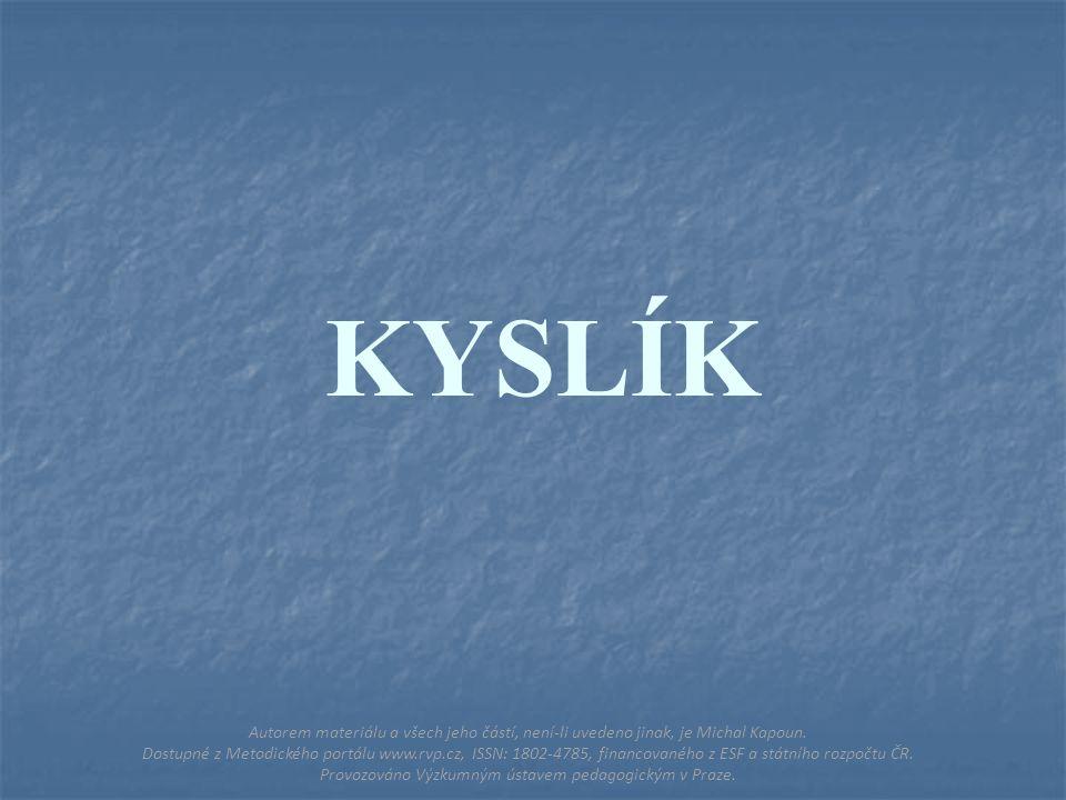 HALOGENY Autorem materiálu a všech jeho částí, není-li uvedeno jinak, je Michal Kapoun.
