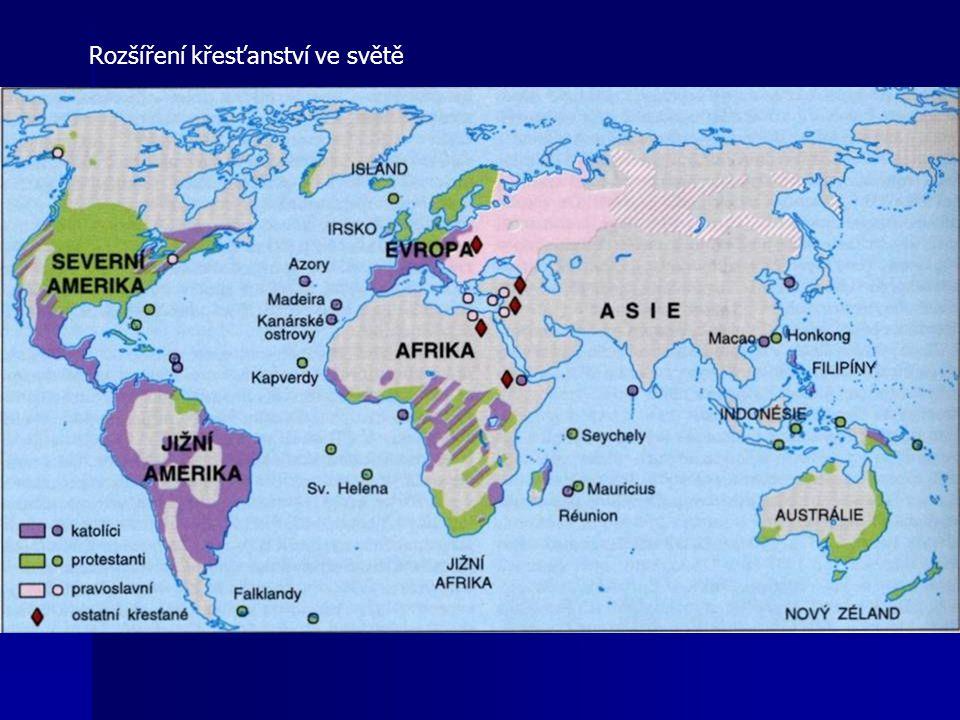 Rozšíření křesťanství ve světě