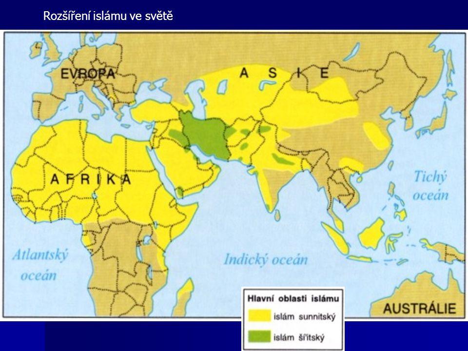 Rozšíření islámu ve světě