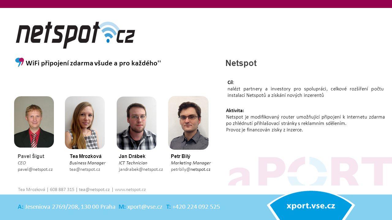 Netspot Aktivita: Netspot je modifikovaný router umožňující připojení k internetu zdarma po zhlédnutí přihlašovací stránky s reklamním sdělením. Provo