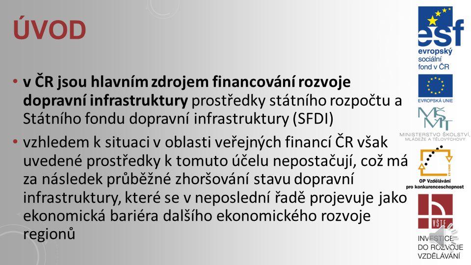 ÚVOD v zemích střední a východní Evropy se značná část finančních prostředků do dopravní infrastruktury soustřeďuje především na rozvoj železniční sít